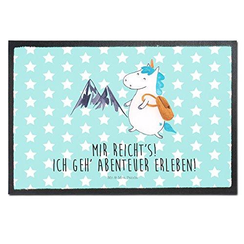 Mr-Mrs-Panda-Fumatte-Druck-Einhorn-Bergsteiger-100-handmade-aus-Velour-Einhorn-Einhrner-Unicorn-Bergsteiger-Abenteuer-Berge-Abenteurer-Weltenbummler-Weltreise-Reisen-Urlaub-Entdecker-Fussmatte-Fumatte