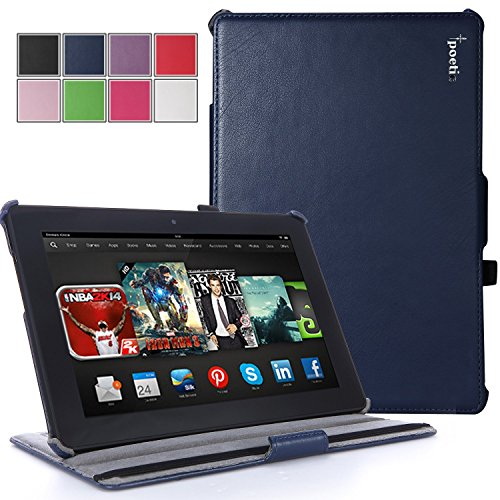 poetic-strapback-case-for-new-kindle-fire-hdx-89-2013-89inch-tablet-navy-blue-3-year-manufacturer-wa