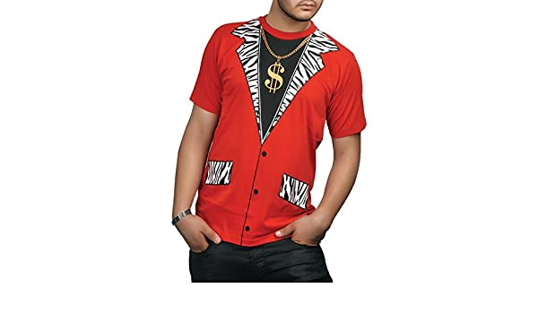 Rimi Hanger Mens Pimp Printed T Shirt Top Boys Short Sleeve Book Week Stag Do Party Top Tee S//XL