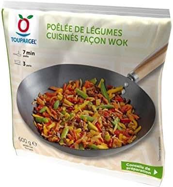 Toupargel Poêlée de Légumes 600 g