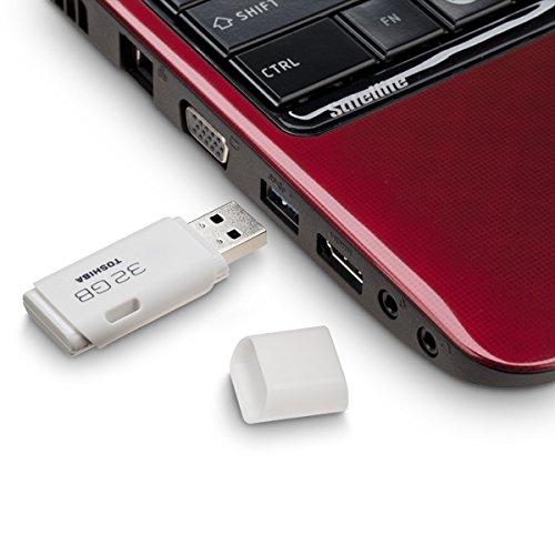 Toshiba TransMemory U202 USB 2.0 32GB Pen Drive (White)