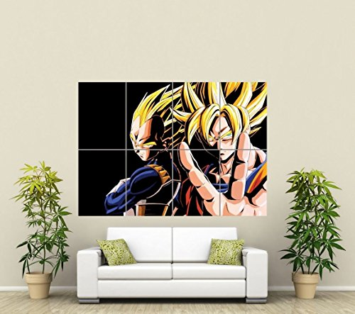 DRAGON BALL Z GIANT ART AFICHE CARTEL IMPRIMIR CARTELLO POSTER PICTURE PRINT ST591