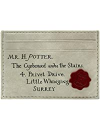 Cartera de Harry Potter Carta de Hechicería Crema