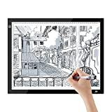 SAVFY Tableta de Luz A3, Mesa de Luz Niveles de Brillo Ajustables,Botón LED...