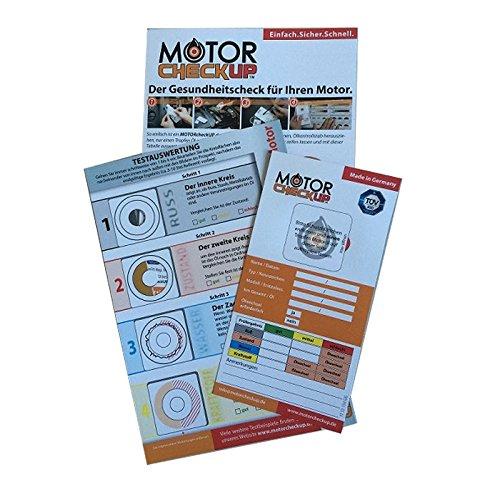Preisvergleich Produktbild Test Motortester Schnelltest für Motoren Consumer MOTORcheckUP - 3 Teststreifen