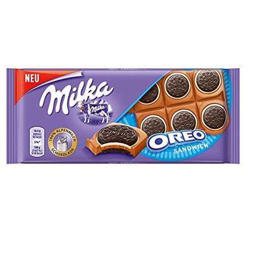 Milka Oreo Sandwich Tafelschokolade (10 x 92g)