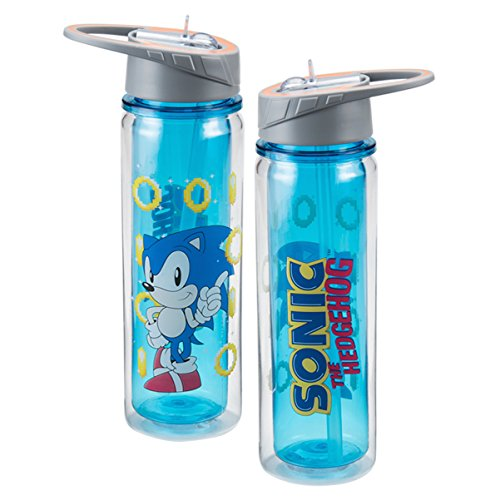 Image of Tritan Water Bottle - Sonic the Hedgehog - 18oz New Licensed 63075