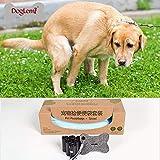 Weehey Cane Poopbag con Dispenser Smaltimento di Cacca Asciugamano Set di Tessuti per Cuccioli di Cani