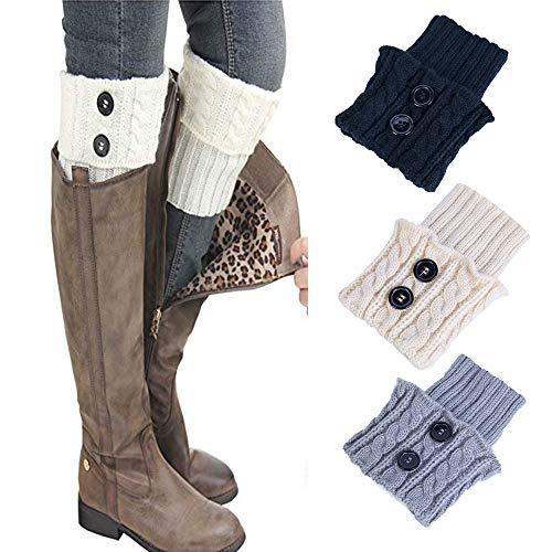 Acryl-leg Warmers (BZLine Mode Frauen Winter Warm Häkelarbeitknit Knit Leg Warmers Crochet Leggings Slouch Boot Socken Beinlinge Manschetten Topper Gestrickte Scoks Häkeln Lange Stiefel Socken Verkaufsförderung)
