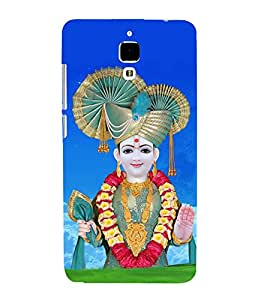 Fiobs Designer Back Case Cover for Xiaomi Redmi Mi 4 :: Redmi Mi 4 (Swaminarayan Bhagwan Lord Quote Messages)