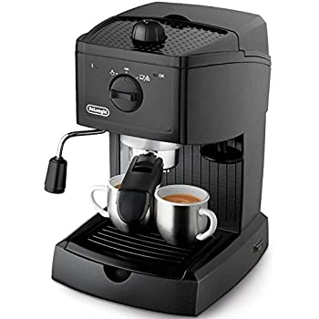 delonghi ec146 b machine a cafe expresso et cappuccino solo pompe caf moulu 1 l 1100 w amazon. Black Bedroom Furniture Sets. Home Design Ideas