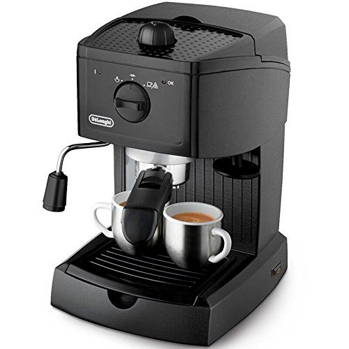 De'Longhi EC146B Traditional Pump Espresso Machine – Black 51t 2B0CPfB3L