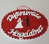 Dügünümüza Hosgeldiniz Tepsi Ringtablett Yüzük Tepsisi Eheringe Verlobung Hochzeit Dügün Söz Mevlüt