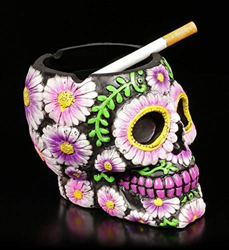 Figuren Shop Gmbh Gothic Calavera Cenicero - Sugar Petal con...