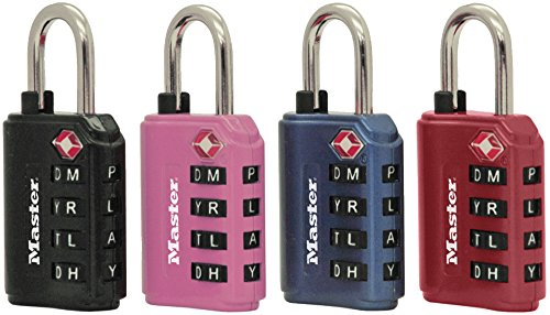 Master Lock 4691DWD TSA Set-Your-Own Password Combination