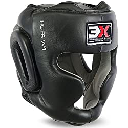 3x Deportes protector de cabeza Casco boxeo MMA Artes Marciales Engranaje protector Entrenamiento UFC, color , tamaño mediano