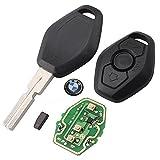 Don Llave® Komplettschlüssel mit Elektronik und Transponder für BMW (Alle Motoren)