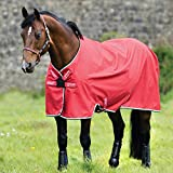 Horseware Amigo Hero ACY Lite 0g Disc Front Regendecke Red/White (160)