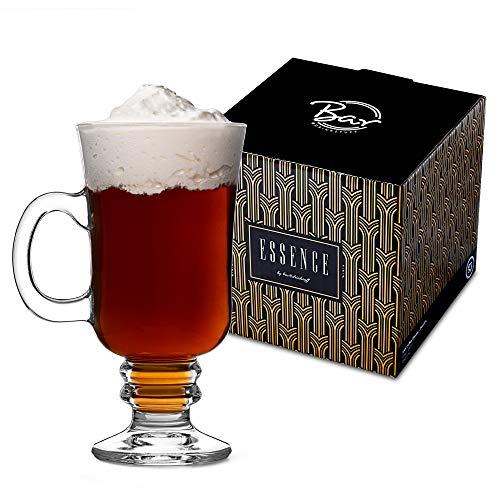 Bar drinkstuff bicchieri ideali per servire il latte macchiato caffè cioccolata calda e molto altro ancora set da 4