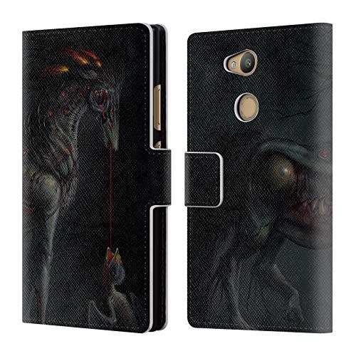 Head Case Designs Offizielle LA Williams Sifter Final Rev Fantasy  Brieftasche Handyhülle aus Leder für Sony Xperia L2