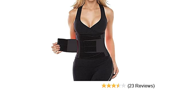 54a498848f1 Buy Chronex Women s Waist Trainer Body Shaper Belt (Large Size) Online at  Low Prices in India - Amazon.in