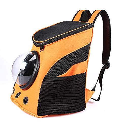 XBECO PET Carrier für Hunde Kleine Hundeplatztasche Expandable Soft seitige Pet Tote Carriers Taschen, Faltschalen Kitten Totes Cats Carriers Taschen,Orange - Seat-belt Bag Small Tote