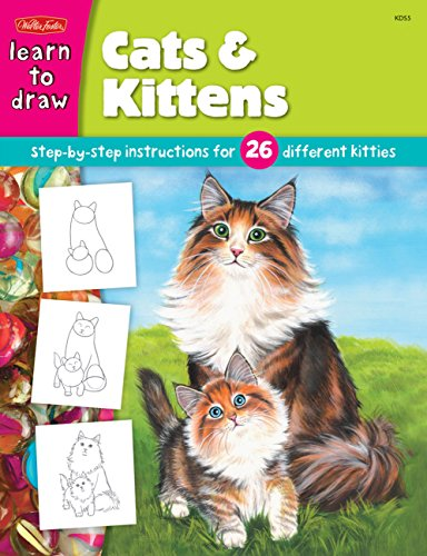 Cats & Kittens: Step-By-Stepinstructions for 26 Different Kitties (Draw And Color)