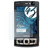 Bruni Schutzfolie für Nokia N95 Folie - 2 x glasklare Displayschutzfolie