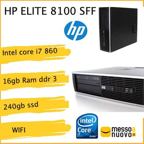 Lenovo ThinkCentre m90p SFF i7 860 8 RAM 128 Go SSD DVD-RW Windows 10 Pro  (Reconditionné)
