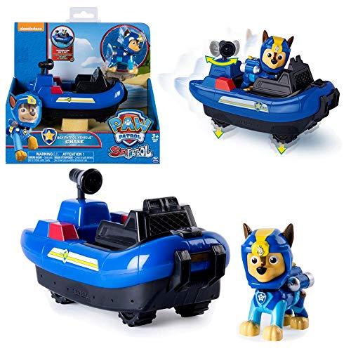 Paw Patrol - Patrulla Canina - Selección de Sea Vehículos con Transformación, Figura:Sea Chase