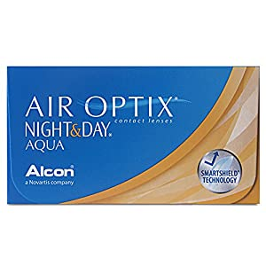 Air Optix Night & Day Aqua Monatslinsen weich, 6 Stück