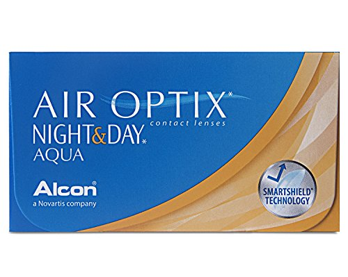 Air Optix Night & Day Aqua Monatslinsen weich, 6 Stück / BC 8.6 mm / DIA 13.8 / -3 Dioptrien