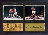 SGH SERVICES Poster Boxer Muhammad Ali, gerahmt, Fotoposter mit Rahmen, MDF-Rahmen