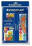 Staedtler 61 S144888 - Noris Club Malset Promotion Farbstifte, Malkasten mit Malblock Gratis hergestellt von STAEDTLER Mars Deutschland GmbH