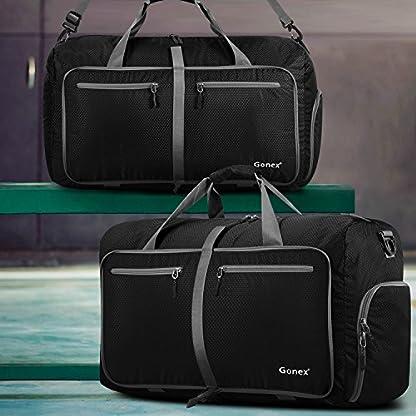 51t%2BJWenb5L. SS416  - Gonex-Bolsa de equipaje plegable para deporte o viaje (multiusos, impermeable, 80 L)