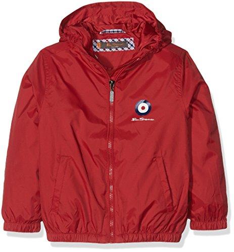 ben-sherman-windcheater-chaqueta-para-ninas-rosso-5-6-anos