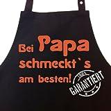 Bei PAPA schmeckt`s am besten! Garantiert! - Kochschürze