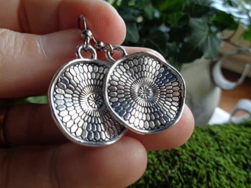 ✿ NUEVO BOHO ETHNO MANDALA ✿ pendientes de gancho pequeños - regalo único - hecho a mano