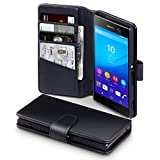 Sony Xperia M5 Cover, Terrapin [ECHT LEDER] Brieftasche