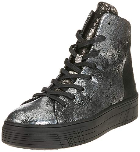 CRIME London Damen 25322AA1.30 Hohe Sneaker Schwarz (Grigio 030) 39 EU 5244be46dc8