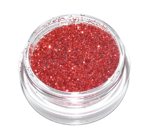 Red Sparkle Eye Shadow Loose Glitter Dust Body Face Nail Art Party Shimmer Make-Up by Kiara H&B (Dust Sparkle Eye)