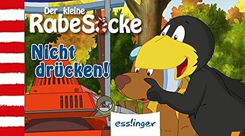 Der kleine Rabe Socke, Das große Rennen – Daumenkino 1 + 2; gemischte VE 10 Expl., Nicht drücken! + Nicht spritzen! (2 x 5 Expl.)