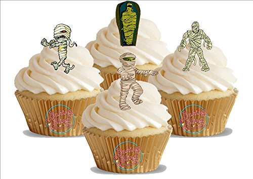12 essbare Standup Kuchen-Deko, Kuchendekorationen, essbar, Premium, 2 x A5, für 12 Bilder ()