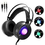 Die besten Budget Kopfhörer - WOFEIYL 3,5 mm PC Stereo Gaming Headset Kopfhörer Bewertungen