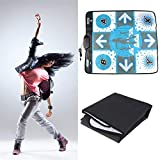 Dailyinshop Anti Slip Dance Revolution Pad Matte Für Nintendo Wii Hottest Party Spiel