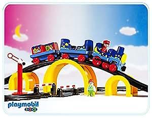 Playmobil 1.2.3 - 6606 - Train Magique de la nuit étoilée