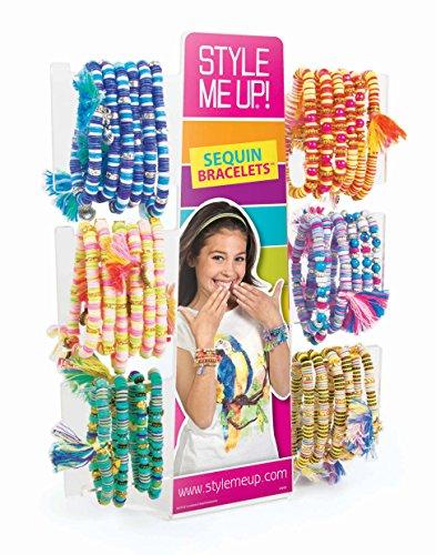 Style Me Up Sequins Bracelets–Bracelets de kit de démarrage (48)