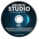 Betriebssystem UBUNTU STUDIO 2017 für PC & Notebook NEU auf DVD 32 oder 64 Bit ! Distribution mit Schwerpunkt auf Medienproduktion-PREMIUM ORIGINAL von STILTEC