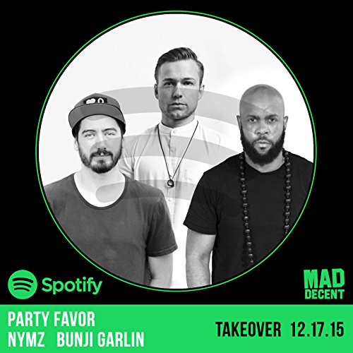 Party Favor, Nymz & Bunji Garlin Take Over Mad Decent Weekly On Spotify