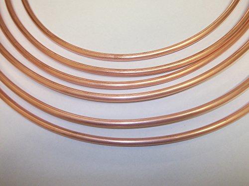 1Meter 6mm Kupfer für Bremsleitungen, Kraftstoffleitung
